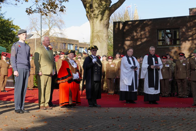 The Memorial Gardens, Ashford Remembrance Service 2019