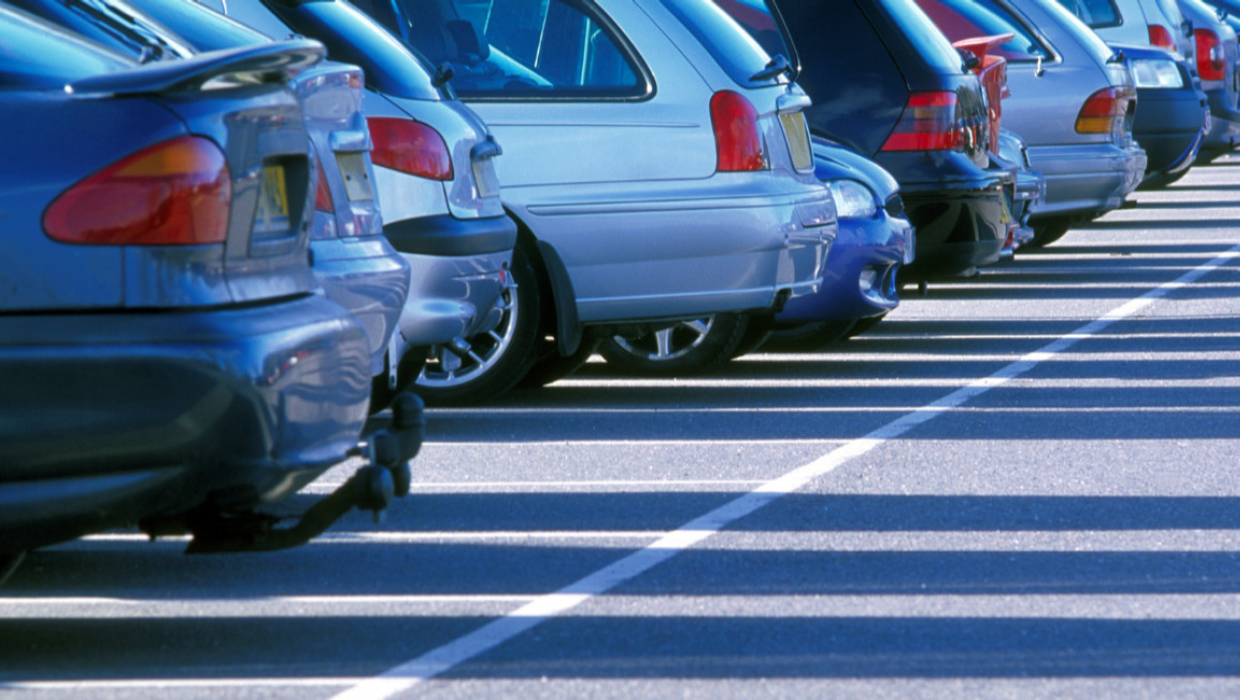 News article entitled Council relaxes parking restrictions in car parks for residents