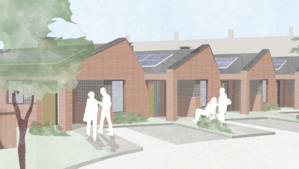 News article entitled Online public consultation launched into plans to redevelop garages in Hothfield