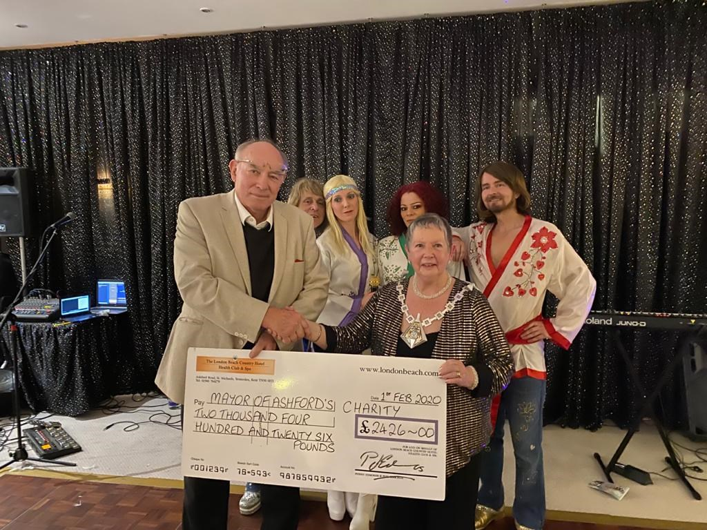 The Mayor at her fundraising charity events