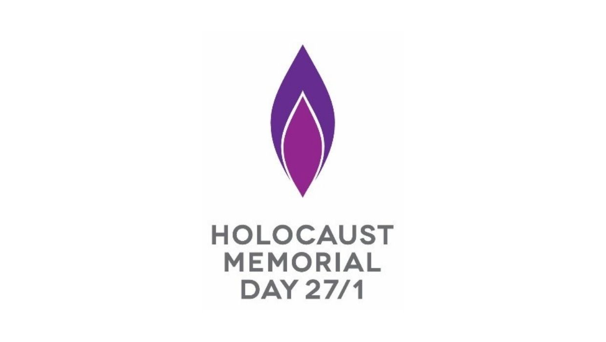 News article entitled Marking Holocaust Memorial Day 2021