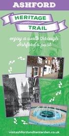Front page of Ashford Heritage Trail document
