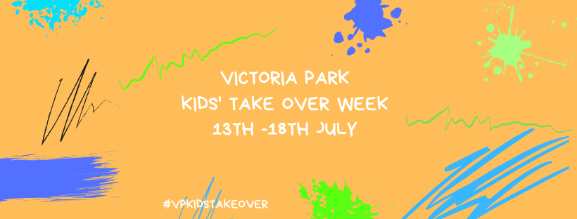 Blog article entitled Victoria Park Kids' Take Over Week