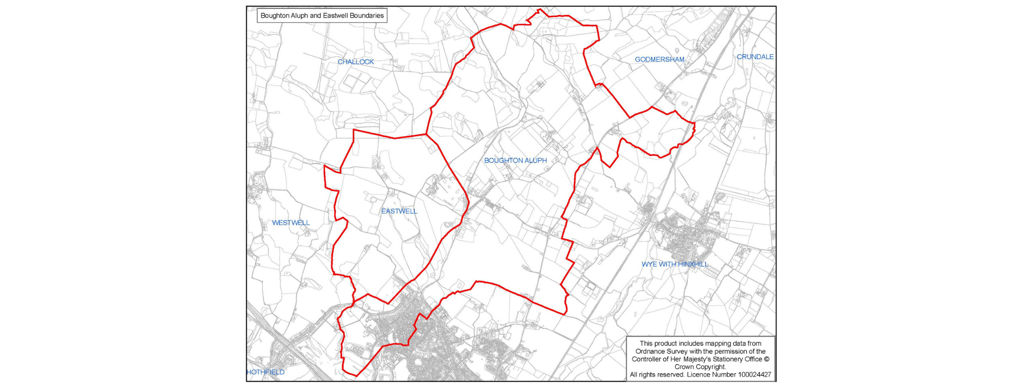News article entitled Have your say on the Boughton Aluph and Eastwell Neighbourhood Plan