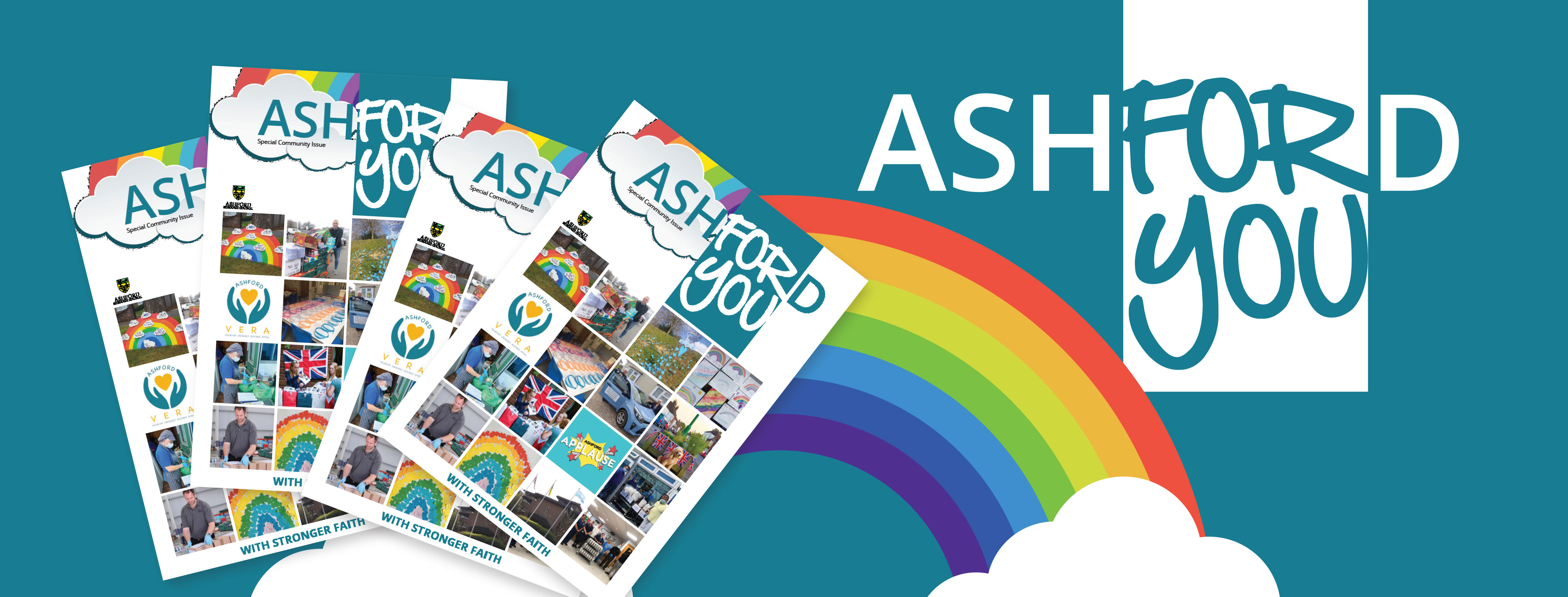 News article entitled Special edition Ashford For You magazine arrives