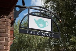 Park Mall sign
