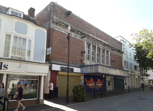 The front of the old Mecca building in Ashford Town Centre