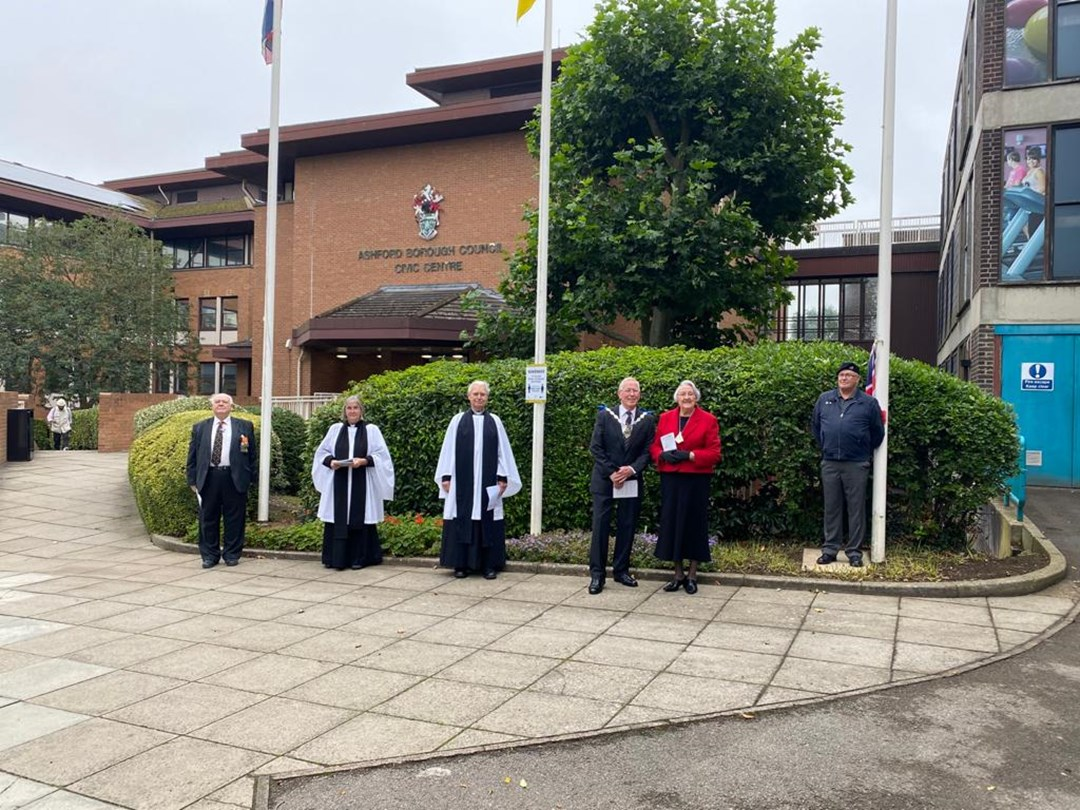 'Raising of the Red Ensign' to mark Merchant Navy Day