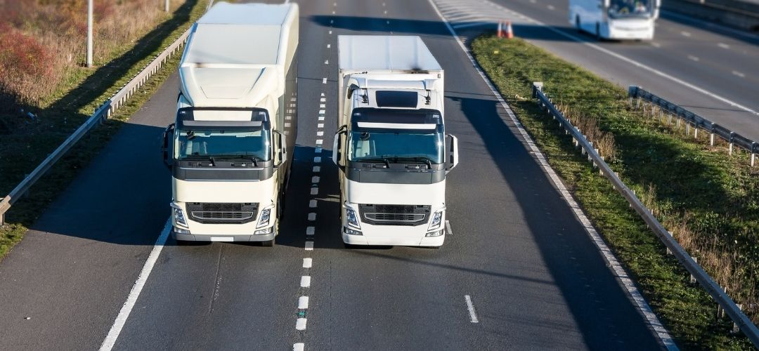News article entitled Good-To-Go Lorry Drivers Help Keep Kent Moving
