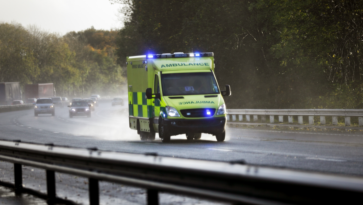 Image for news article entitled Prepare for winter and support your ambulance service